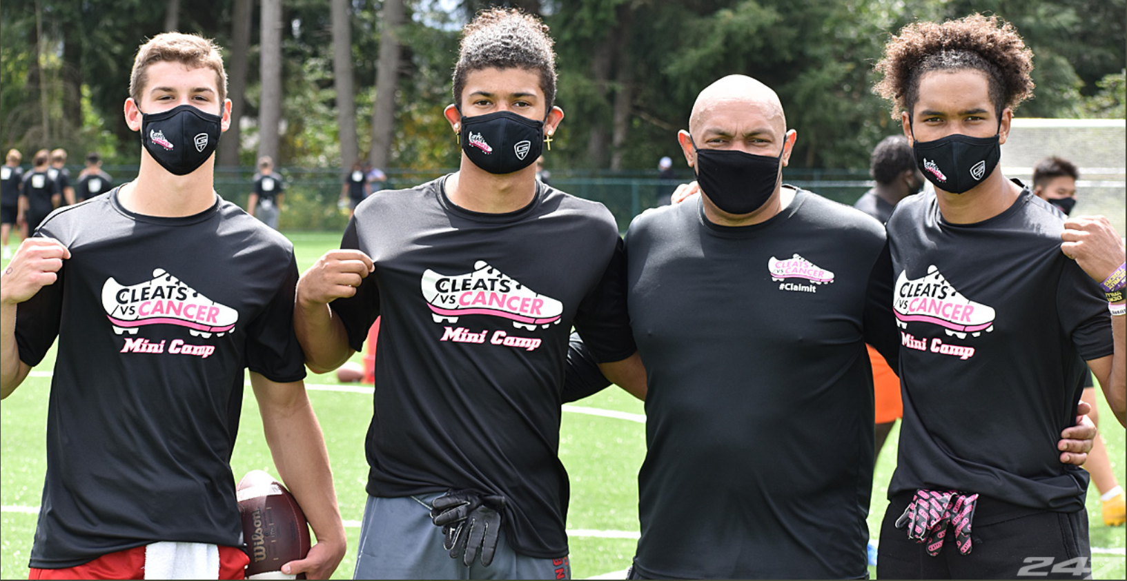 Cleats vs. Cancer Mini-Camp Brings Hope to Washington HS Players