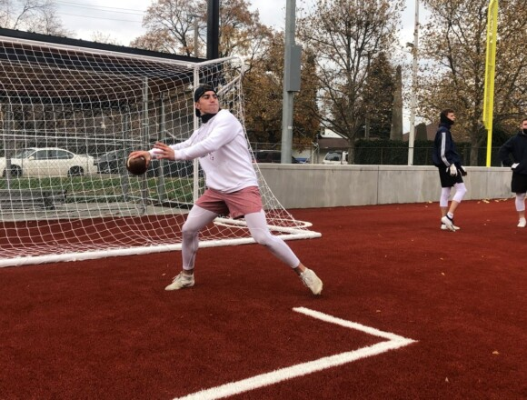Spokane high school football players get taste of fall football in North Idaho