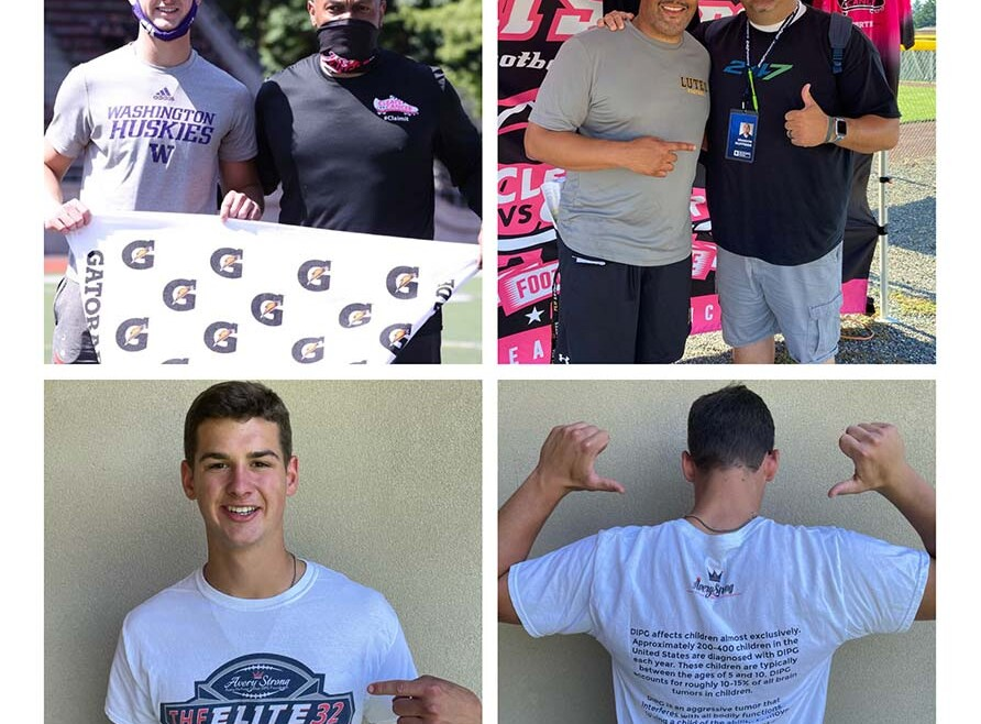 Cleats vs. Cancer, Gatorade Player of the Year Sam Huard give donation to AHDF